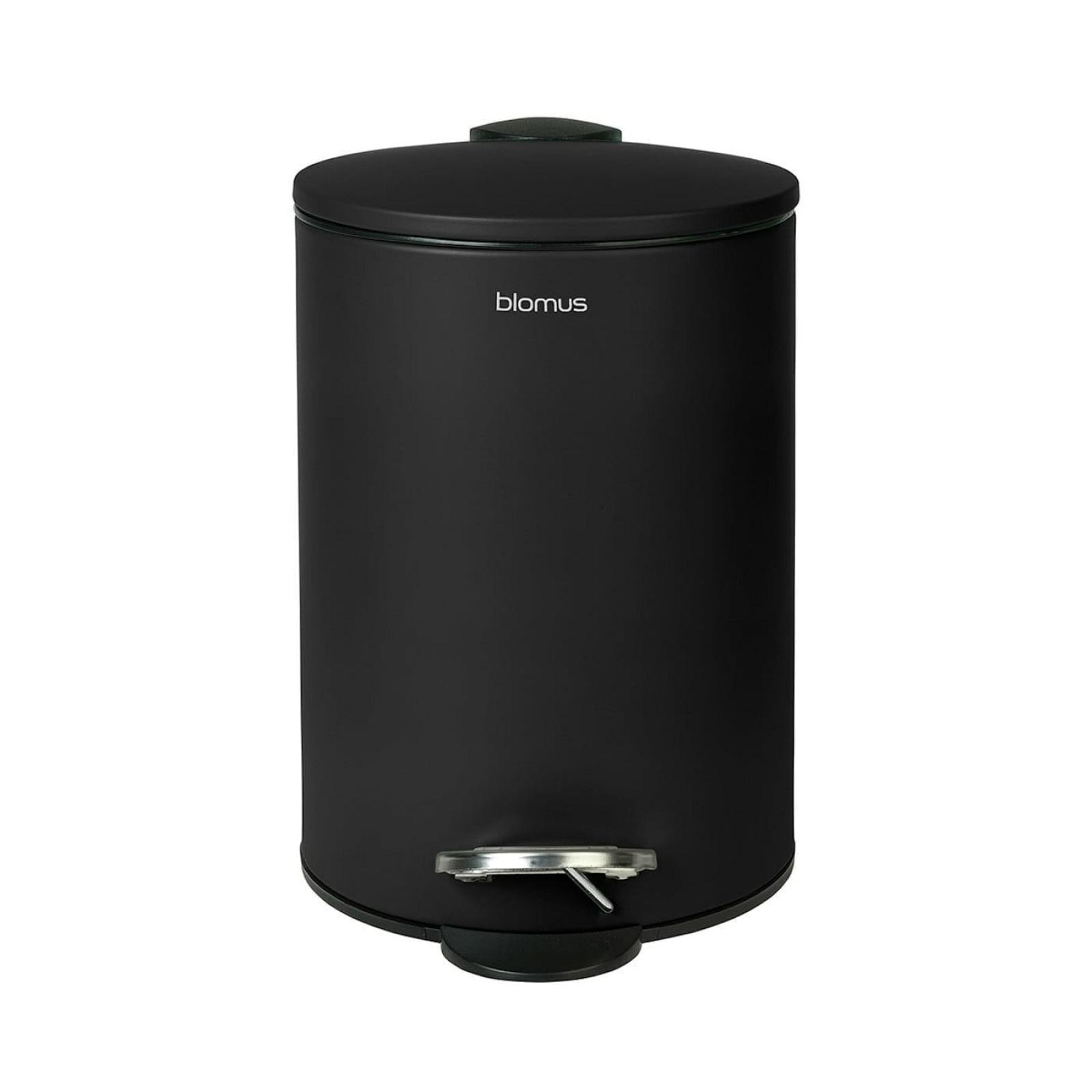 Κάδος Μπάνιου TUBO 3 Λίτρα (Μαύρο) - Blomus