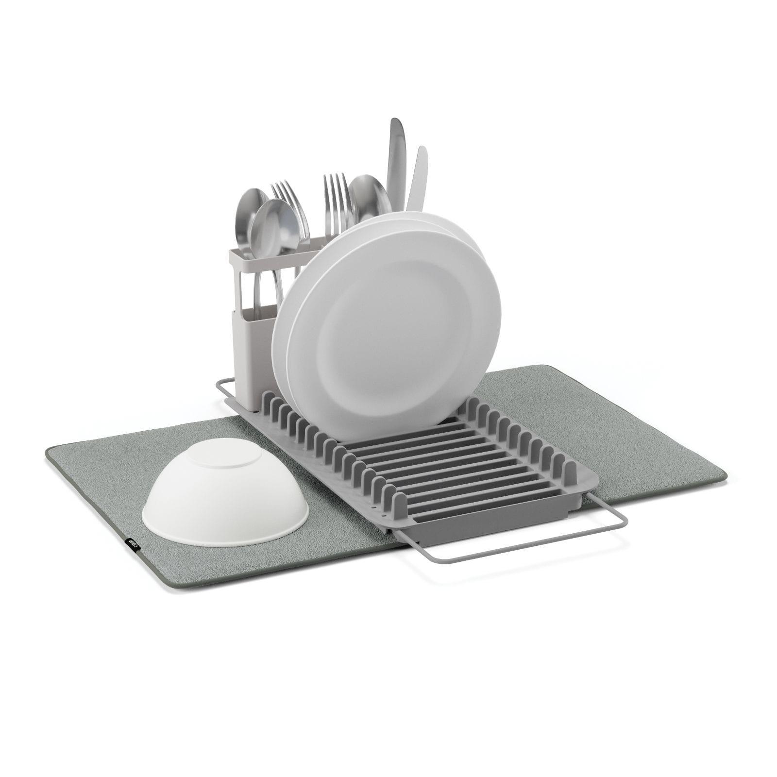 Αναδιπλούμενη Πιατοθήκη Udry Over the Sink (Γκρι) - Umbra
