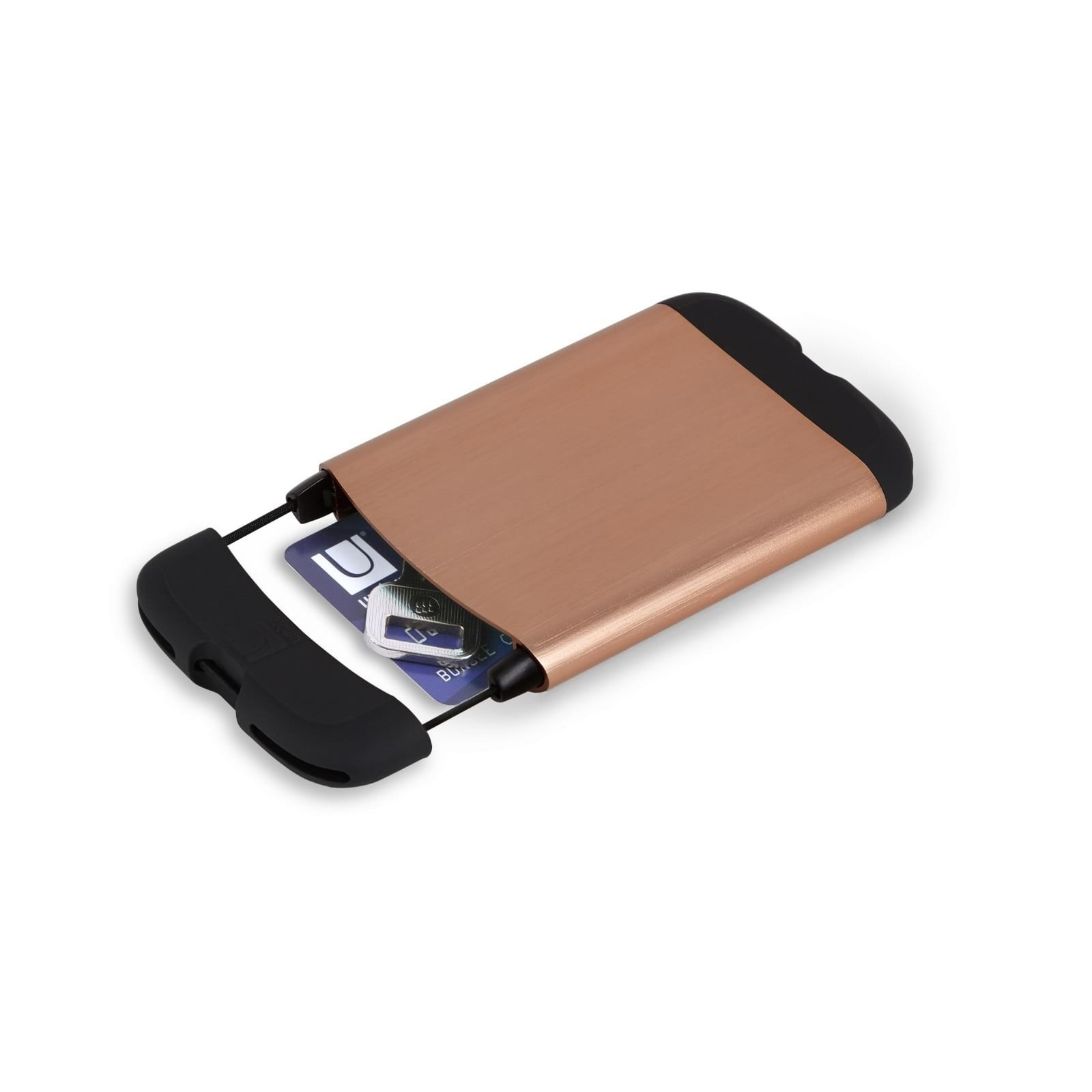 Πορτοφόλι Θήκη Καρτών Bungee με RFID Blocking (Χάλκινο) - Umbra