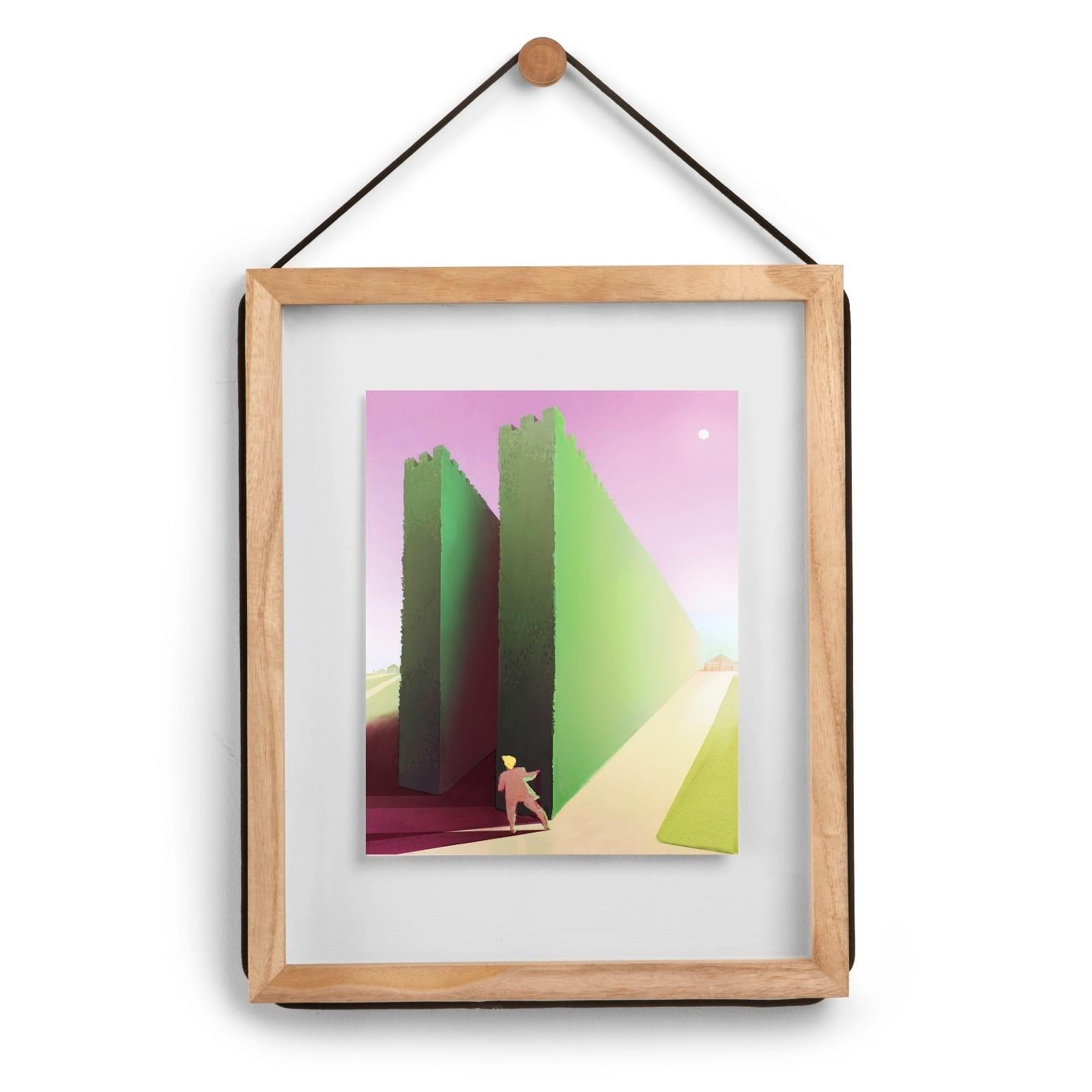 Κορνίζα Τοίχου Corda (Φυσικό Ξύλο) - Umbra