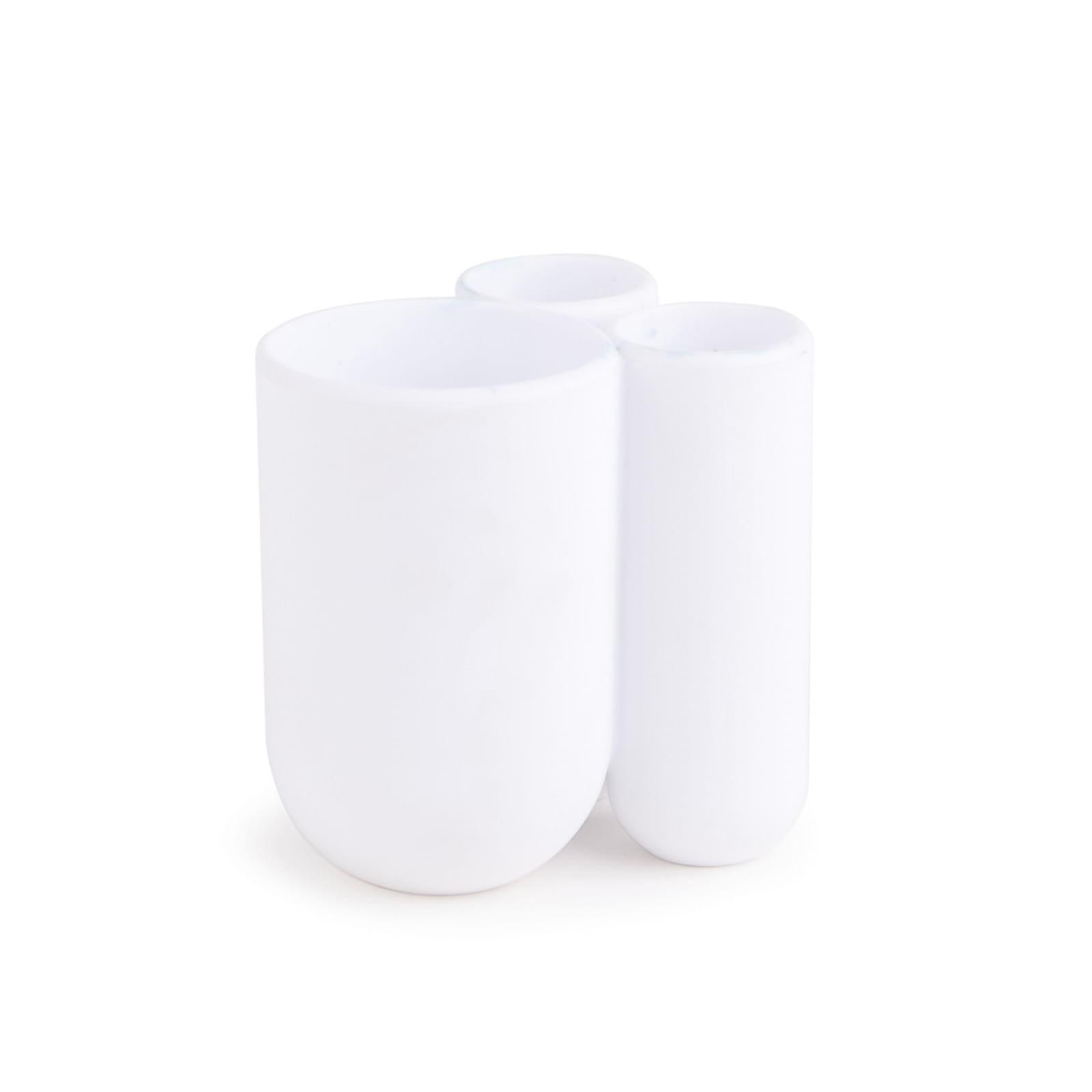 Βάση για Οδοντόβουρτσες Touch (Λευκή) - Umbra