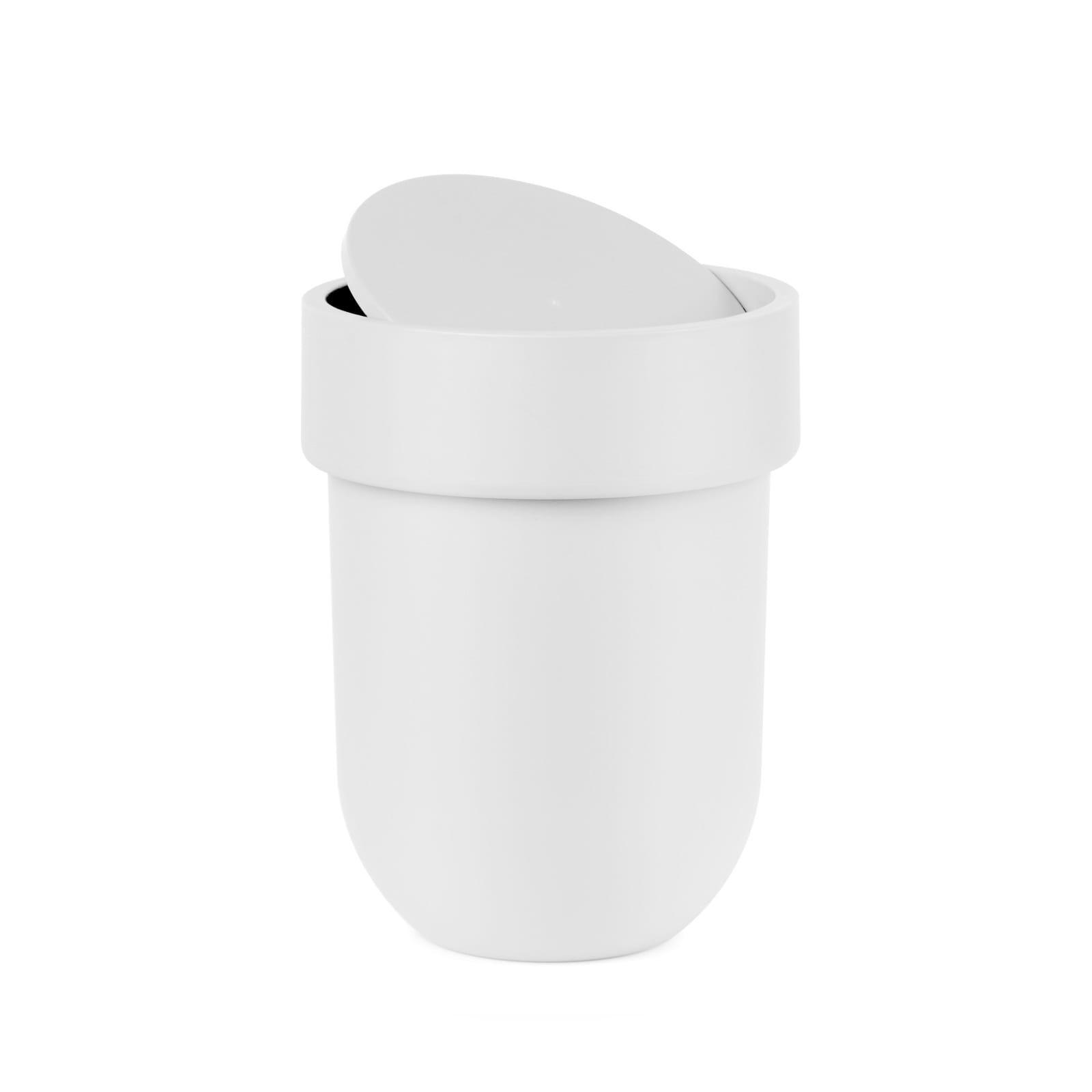 Κάδος Απορριμάτων Μπάνιου Touch 6 Λίτρα (Λευκό) - Umbra