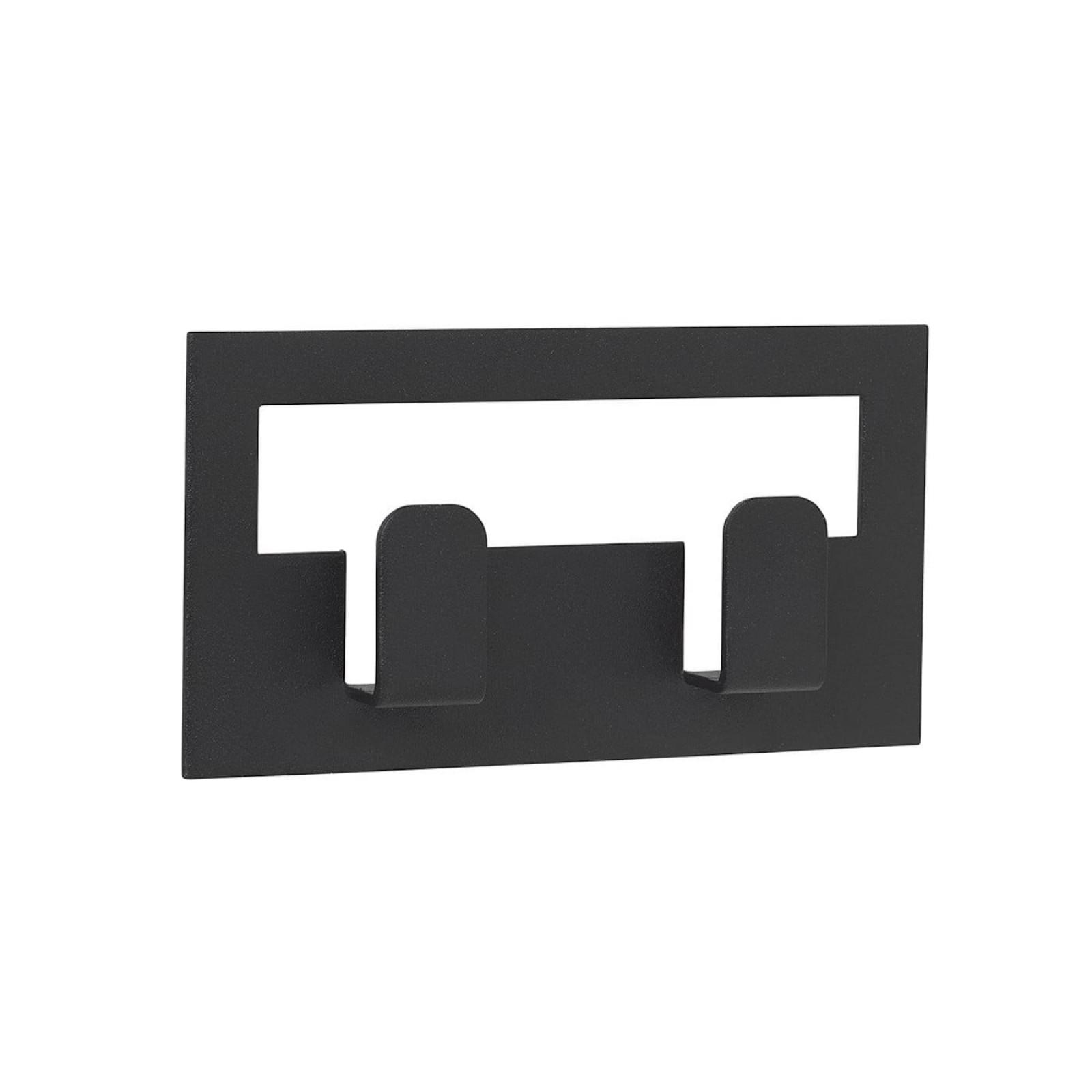 Διπλή Κρεμάστρα για Πετσέτες με Αυτοκόλλητο VINDO (Μαύρο) - Blomus