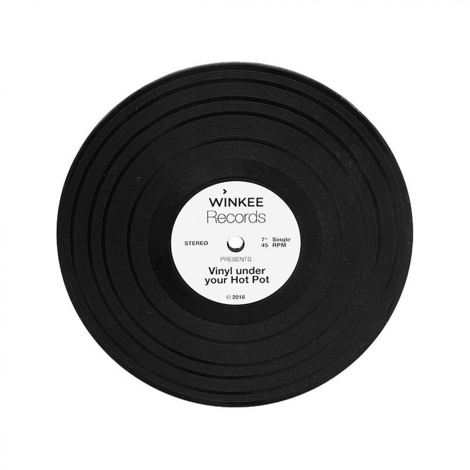 Βάση για Ζεστά Σκεύη Vinyl Record (Σιλικόνη)