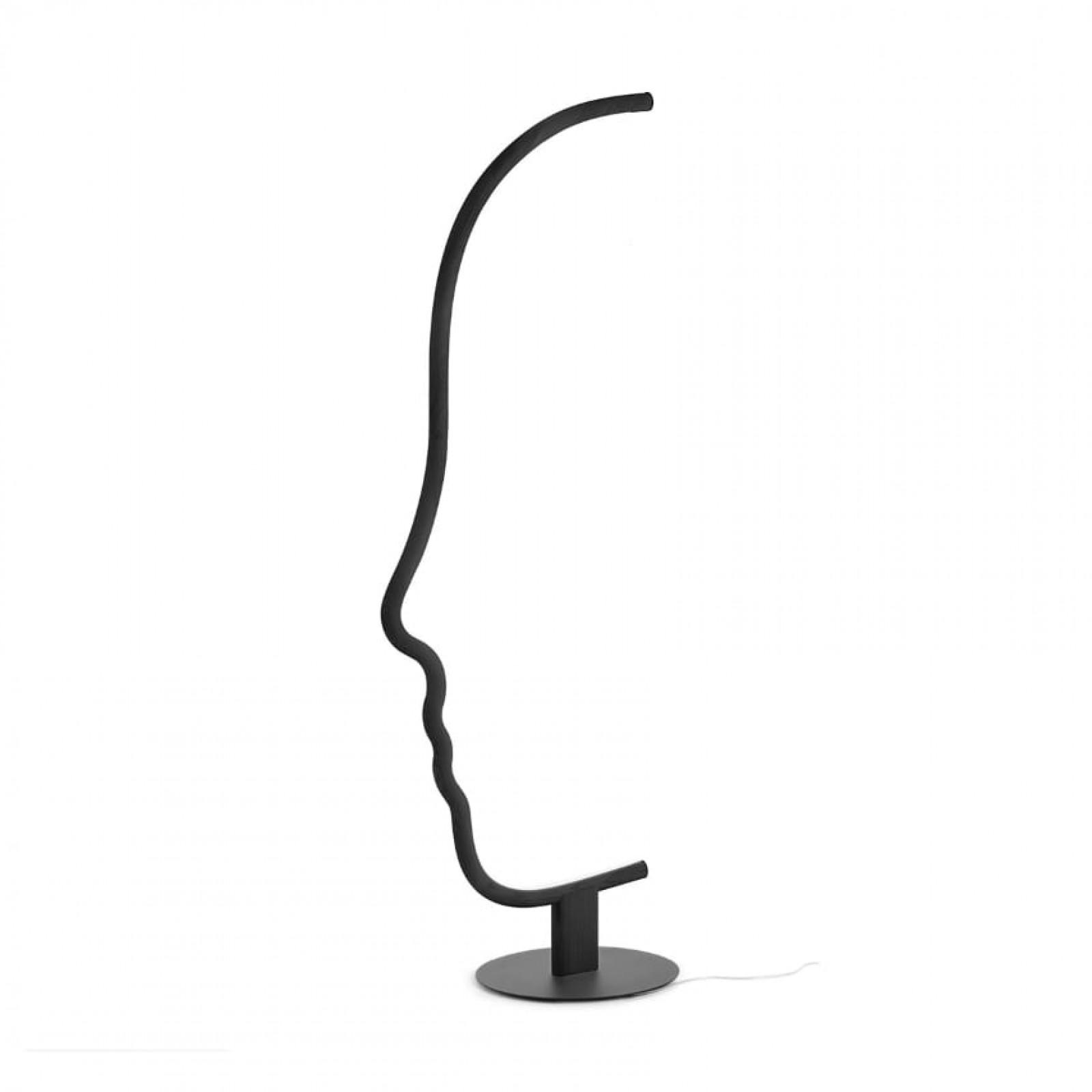 Φωτιστικό Δαπέδου Vis a Vis (Μαύρο) - Mogg