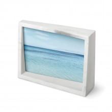 Ασύμετρη Kορνίζα Τοίχου / Επιτραπέζια Edge - 13 x 18 εκ. (Μάρμαρο) - Umbra