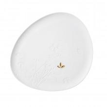 Πορσελάνινο Πιάτο Golden Leaf - Raeder