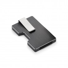 Θήκη Καρτών / Money Clip COOPER με RFID Blocking (Μαύρο)- Philippi