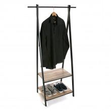 Έπιπλο Εισόδου / Καλόγερος Ρούχων ALZ (Μέταλλο / Ξύλο) - Versa