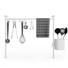 Βέργα Οργάνωσης Κουζίνας Anywhere Tension (Λευκό) - Umbra