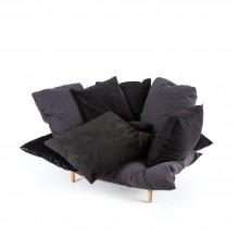 Πολυθρόνα Comfy (Γκρι / Ανθρακί) - Seletti