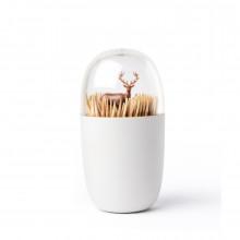 Θήκη για οδοντογλυφίδες Deer Meadow - Qualy