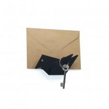 Κλειδοθήκη Τοίχου / Κρεμάστρα Early Bird (Μαύρη) - Moreover Design