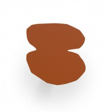 Κρεμάστρα Τοίχου ENRI04 (Καφέ Ανοιχτό) - Presse Citron