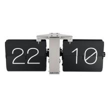 Ρολόι Τοίχου & Επιτραπέζιο Flip No Case (Μαύρο) - Karlsson