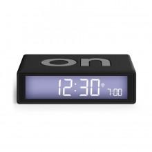 Ψηφιακό Επιτραπέζιο Ρολόι / Ξυπνητήρι Flip+ (Μαύρο) - LEXON