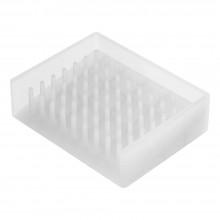 Σαπουνοθήκη Σιλικόνης Float (Λευκό) - Yamazaki