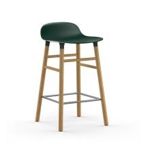 Σκαμπό Form 65 εκ. Ξύλο Βελανιδιάς (Πράσινο) - Normann Copenhagen
