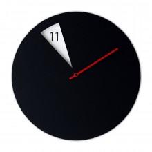 Ρολόι Τοίχου Freakish (Μαύρο / Κόκκινο) - Sabrina Fossi Design