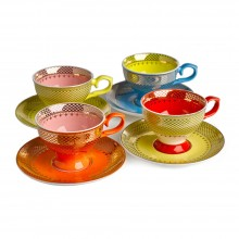 Φλυτζάνια του Καφέ Grandma (Σετ των 4) - Pols Potten