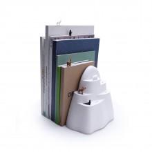 Σετ Βιβλιοστάτης & Σελιδοδείκτες Book Iceberg - Qualy