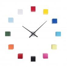 Ρολόι τοίχου Do It Yourself Cubic (Πολύχρωμο) - Karlsson