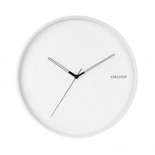 Ρολόι Τοίχου Hue Metal (Λευκό) - Karlsson