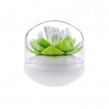 Θήκη για Μπατονέτες ή Οδοντογλυφίδες Lotus (Λευκό / Πράσινο) - Qualy
