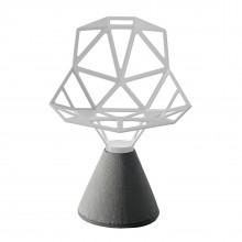 Καρέκλα Chair One με Βάση από Τσιμέντο (Λευκό) - Magis