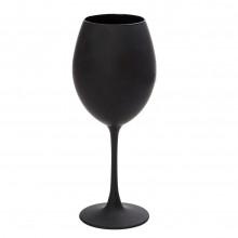 Ποτήρια Λευκού Κρασιού Maya Black 550ml (Σετ των 6) - Espiel