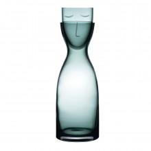Κρυστάλλινη Καράφα με Ποτήρι Mr. & Mrs. Night Tall (Πράσινο) - Nude Glass