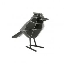 Διακοσμητικό Γλυπτό Origami Bird Large (Μαύρο / Λευκό) - Present Time