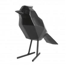 Διακοσμητικό Γλυπτό Origami Bird Large (Μαύρο) - Present Time