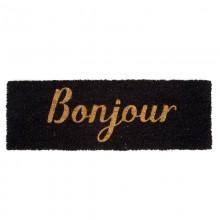Χαλάκι Εισόδου Bonjour 75 x 26 εκ. (Μαύρο / Χρυσό) - Present Time