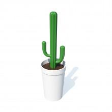 Πιγκάλ Cacbrush (Λευκό / Πράσινο) - Qualy