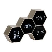Επιτραπέζιο Ρολόι / Ξυπνητήρι Six In The Mix (Χρυσό) – Karlsson