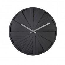 Ρολόι Τοίχου Slides (Μαύρο) - Karlsson