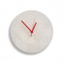 Ρολόι Τοίχου από Τσιμέντο Space & Time (Λευκό) - A Future Perfect