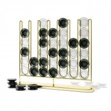 Επιτραπέζιο Διακοσμητικό-Παιχνίδι Σκορ 4 (Χρυσαφί) - Umbra