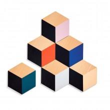 Σουβέρ Table Tiles Σετ των 6 (Πολύχρωμο) - Areaware
