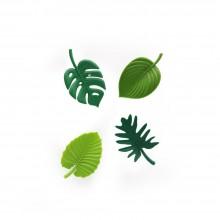 Μαγνητάκια Tropical  (Σετ των 4) - Qualy