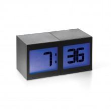 Επιτραπέζιο Ρολόι / Ξυπνητήρι TWO Magical (Μαύρο) - Philippi