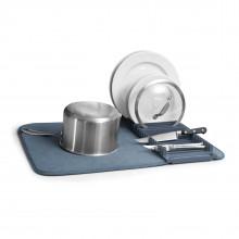 Αναδιπλούμενη Πιατοθήκη / Στεγνωτήριο Πιάτων Udry (Μπλε Denim) - Umbra