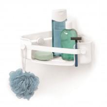 Ράφι Μπάνιου με Βεντούζες Γωνιακό Flex Gel Lock (Λευκό) - Umbra