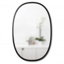 Οβάλ Καθρέφτης Τοίχου HUB 91 x 61 εκ. (Μαύρο) - Umbra