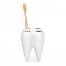 Θήκη / Βάση για Οδοντόβουρτσες WHITE TOOTH