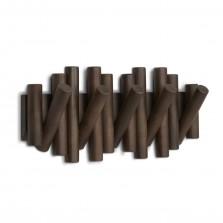 Κρεμάστρα Τοίχου Picket με 5 Γάντζους (Καρυδιά)  - Umbra