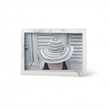 Ασύμετρη Kορνίζα Τοίχου / Επιτραπέζια Edge - 10 x 15 εκ. (Μάρμαρο) - Umbra
