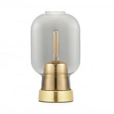 Επιτραπέζιο Φωτιστικό Amp (Γκρι / Χρυσό) - Normann Copenhagen