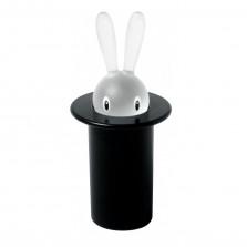 Θήκη για Οδοντογλυφίδες Magic Bunny (Μαύρο)- Alessi